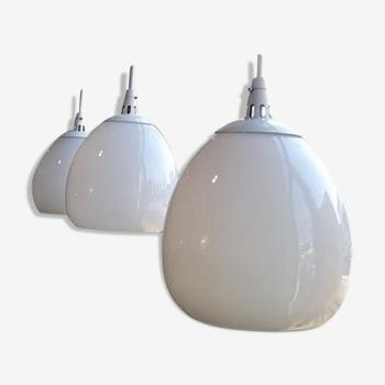 Vintage industrial suspension lamp