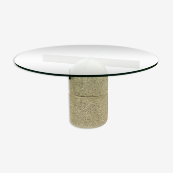 """""""Paracarro"""" dining table by Giovanni Offredi, 1970"""