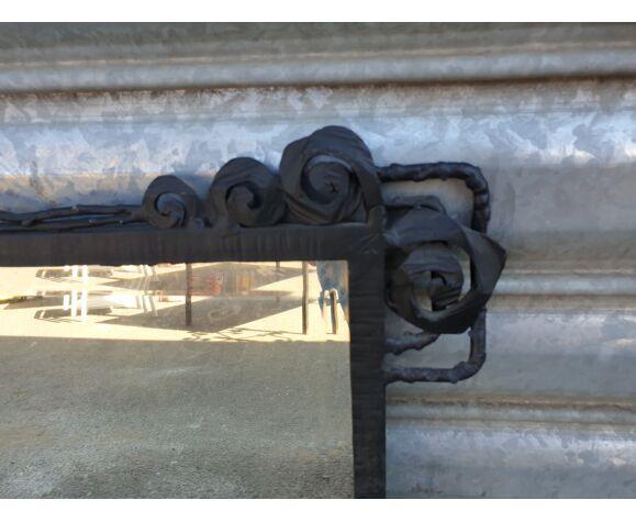 Miroir en fer forgé - 50x74cm