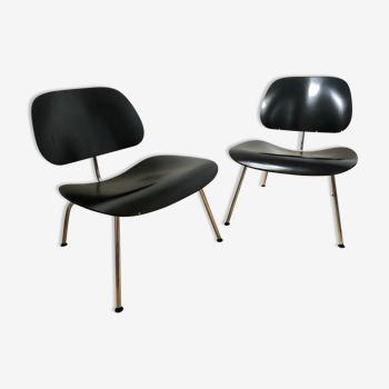 Paire de fauteuils LCM Eames Vitra