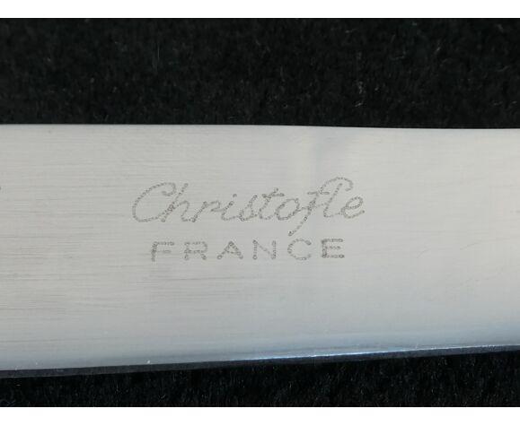 Set de 12 couteaux a dessert Christofle modele Vendome