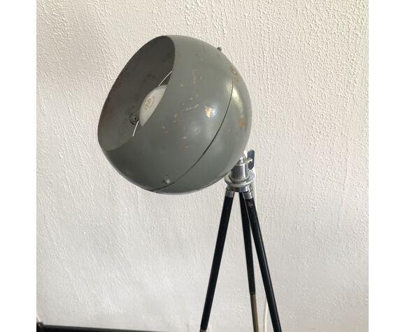 Lampadaire vintage 1950 liseuse projecteur studio photo  - 128 cm