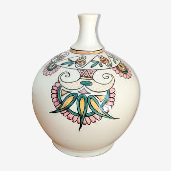 Vase artisanal vintage années 80/90s