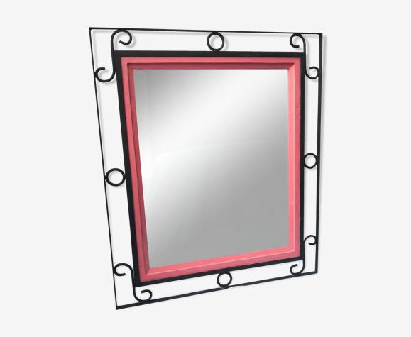 Miroir fer forgé 60x75cm