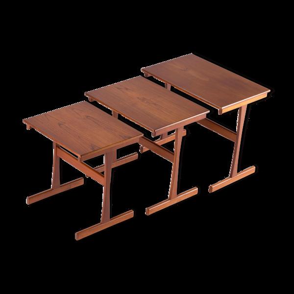 Selency Tables basses gigognes scandinaves