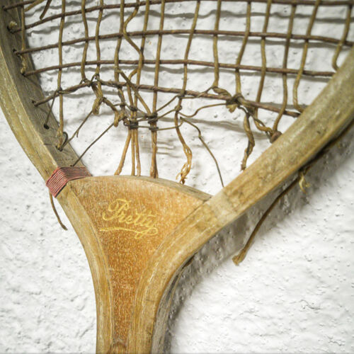 Raquette ancienne en bois