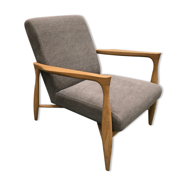 Selency Fauteuil floating gris Red édition