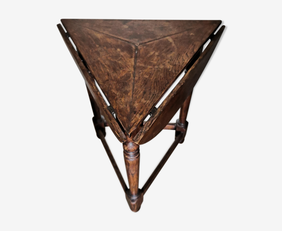 Table en chêne pliante h j linton