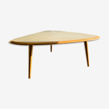 Table basse Red Edition laquée beige