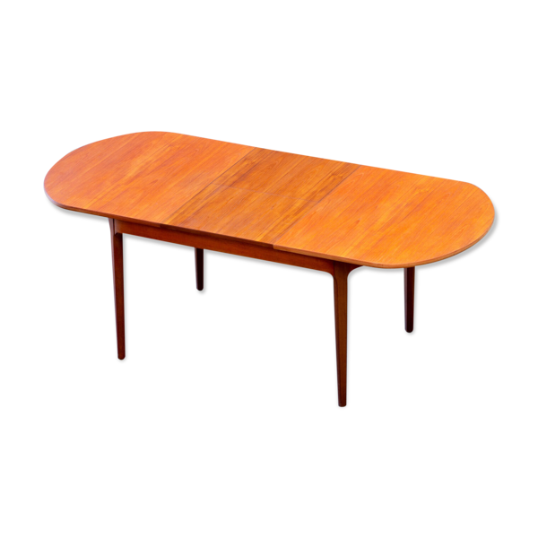 Selency Table scandinave vintage extensible par Nathan 1960's