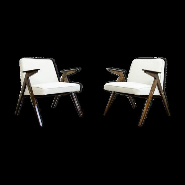 Paire de fauteuils «Bunny» 300-177, années 1970