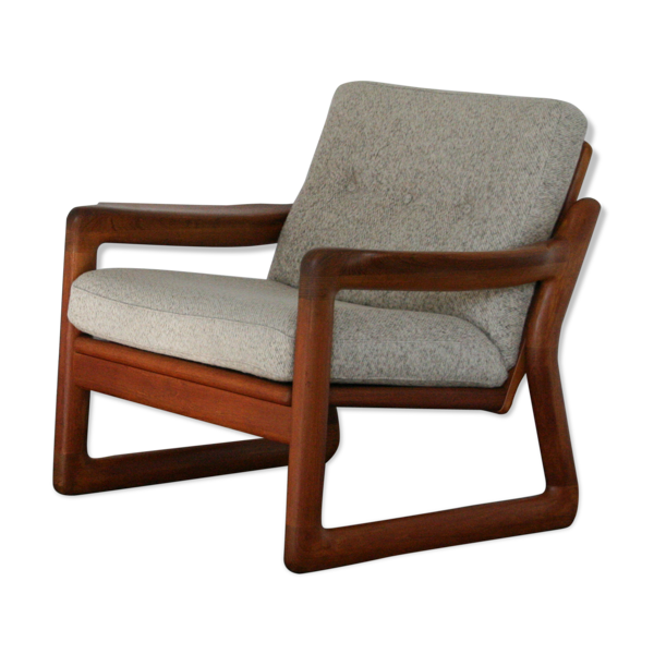 Chaise vintage en teck de Komfort Danemark