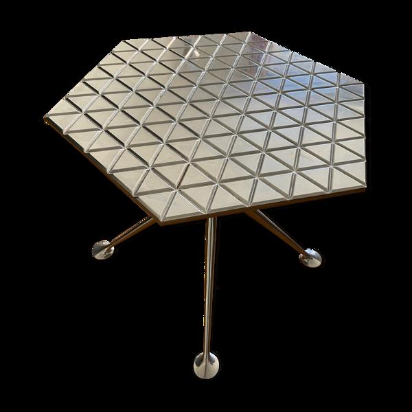 Table d'appoint Hexagonal