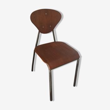 Chaise vintage type mullca