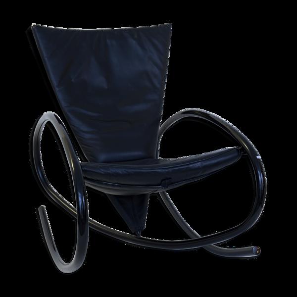 Selency Rocking Chair noir