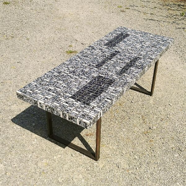 Table basse mosaïques 70/80