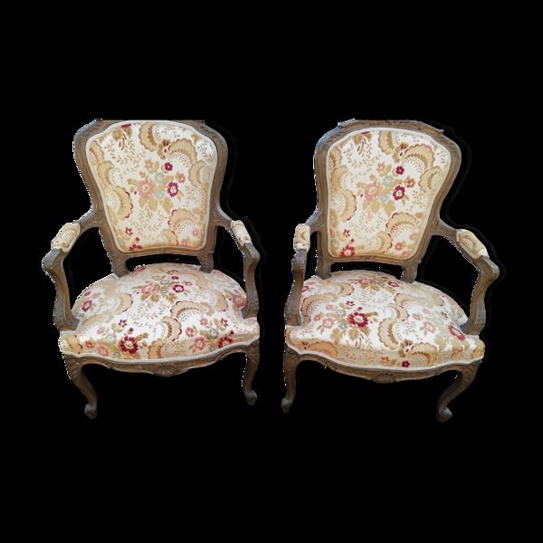 Fauteuils style Louis XVI