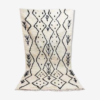 Tribal berber carpet 255 x 144 cm