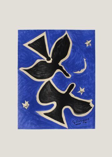 Georges BRAQUE, Les Oiseaux 1961