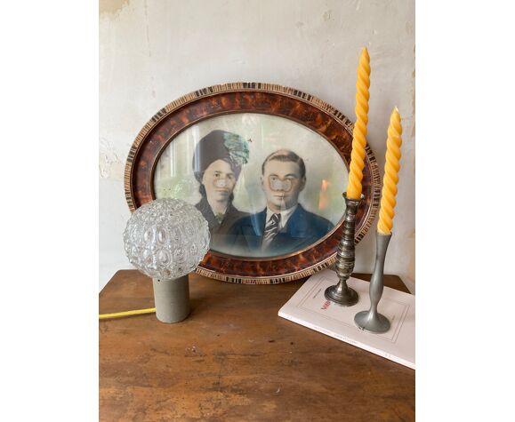 Lampe globe vintage