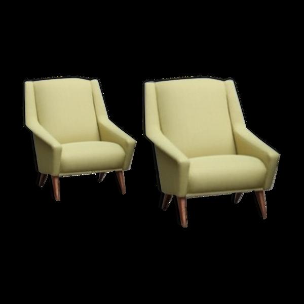 Paire de fauteuils Alfredo Ciolino éditions Fero 1950