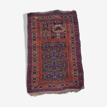 Tapis persan fait main 82x126cm
