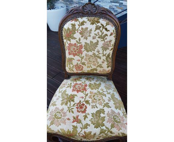 Lot de 3 chaises tissus à changer