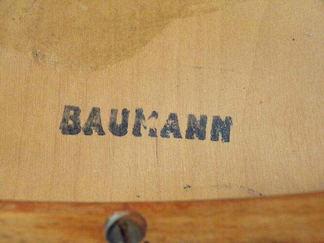 Fauteuil Baumann en bois courbé