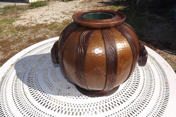 Vase pot vintage années 60