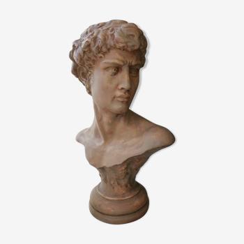 Bust sculpture David