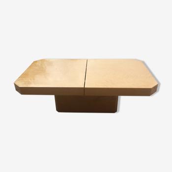 Table basse de salon en sycomore