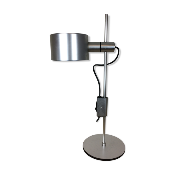 Lampe de table par Peter Nelson & Ronald Holmes pour Conelight, aluminium