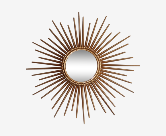 Miroir soleil bombé Chaty Vallauris 50x50 cm