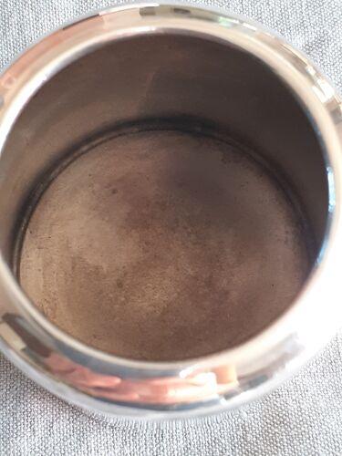 Pot à lait anglais ancien en argent Epns