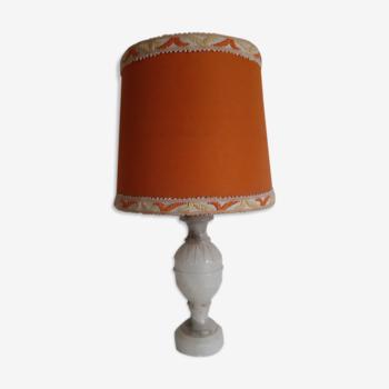 Lampe vintage année 60 en albâtre