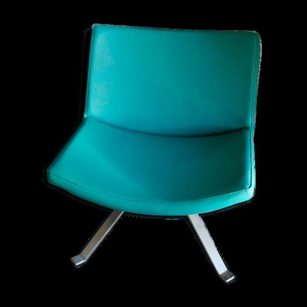 Fauteuil Design Kesterport vert canard