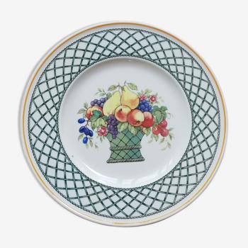 Assiette à dessert Villeroy et Boch Basket Country collection