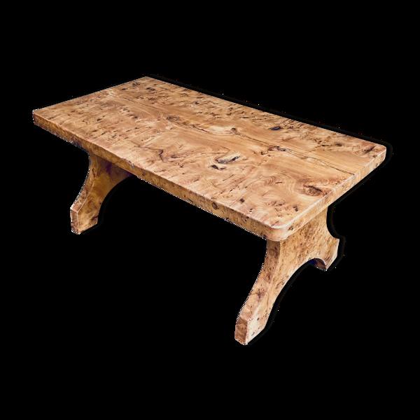 Table olivier massif