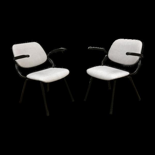 Paire de fauteuils vintage pour Marko 1950