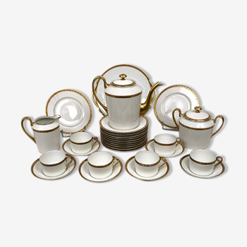 Service à café et à dessert porcelaine de Limoges