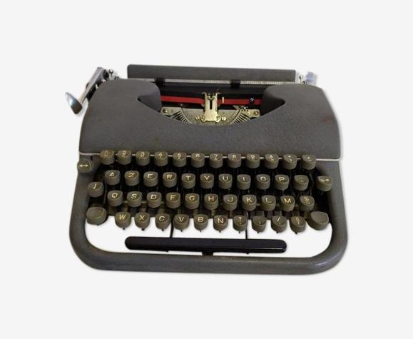 Manufrance metal typewriter - vintage