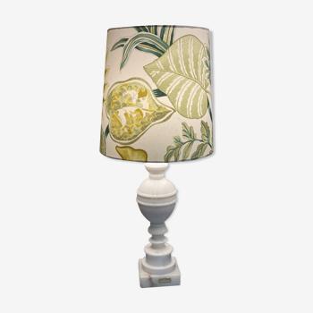 Lampe à poser pied en marbre
