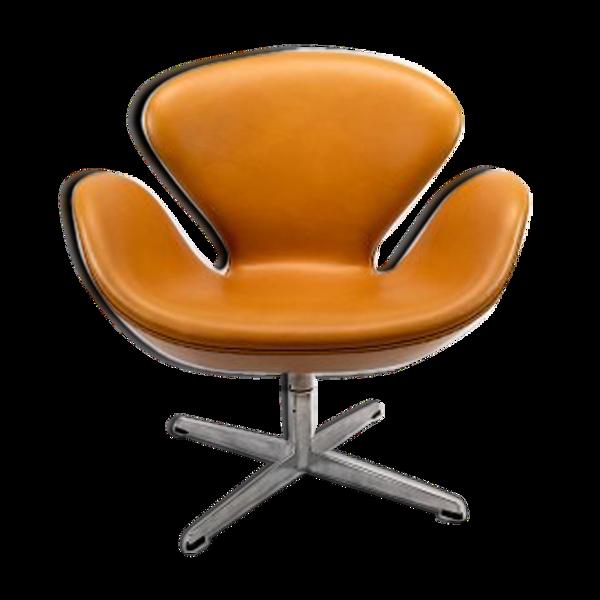 Fauteuil Swan, modèle 3320, conçue par Arne Jacobsen en 1958 et fabriquée par Fritz Hansen