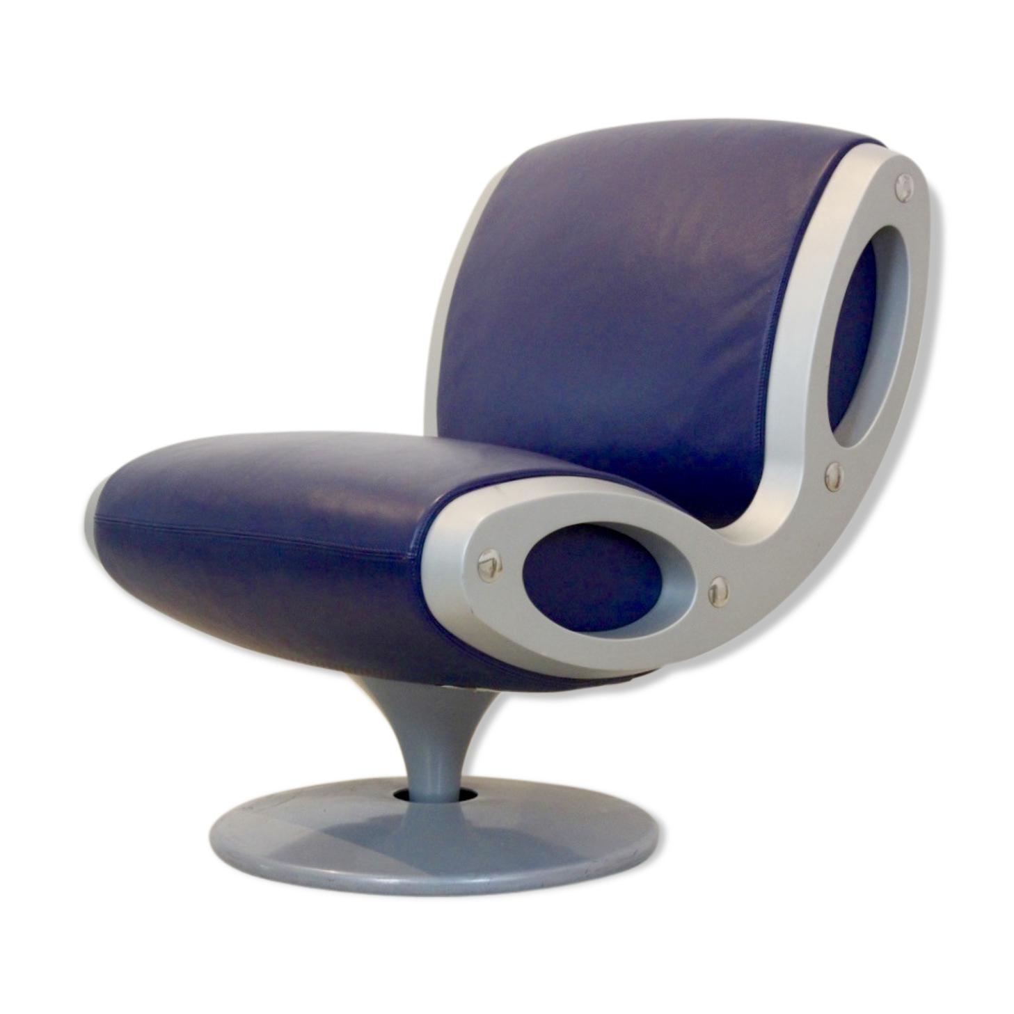 Chaise pivotante «gluon» conçue par Marc Newson pour Moroso années 90 Italie