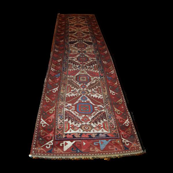 Coureur ancien nord-ouest persan 122x436cm 1840s