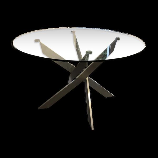 Selency Table en verre D120
