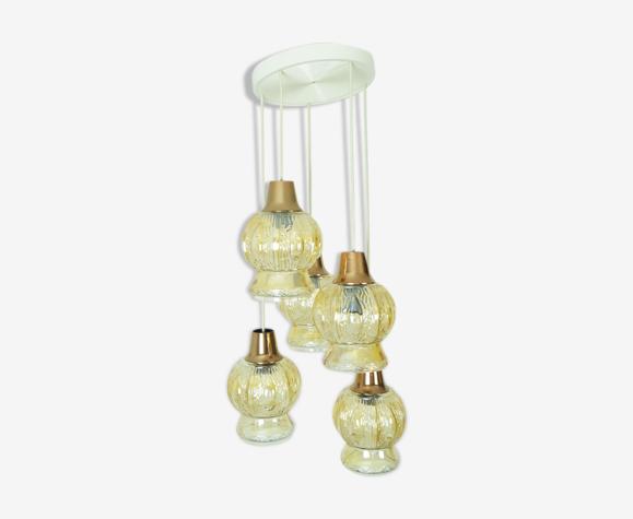 Lampe cascade, années 1970