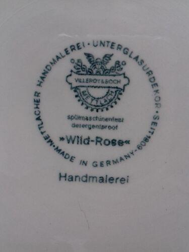 Soupière Villeroy & Boch modèle wild rose