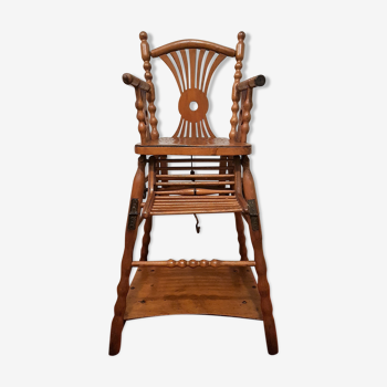 Very old high chair for baby / child