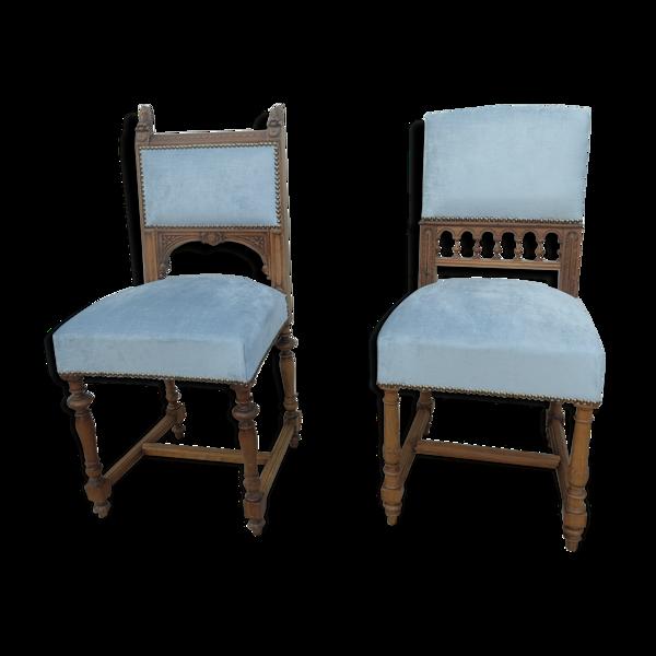 Paire de chaises Henri ll